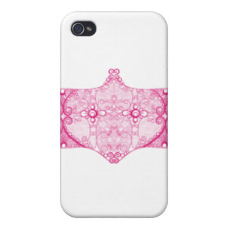 Lace Strip Pink Case For The iPhone 4