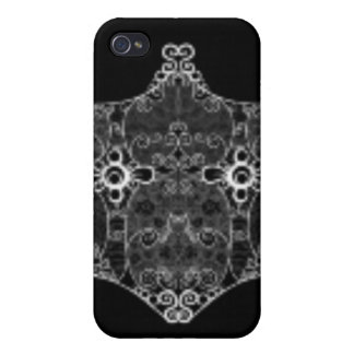 Lace strip White Cover For iPhone 4