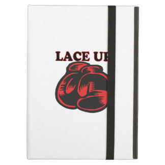 Lace Up iPad Air Cover