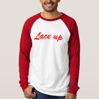 lace up mgk long sleeve T-Shirt