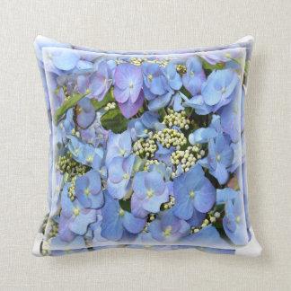 Lacecap Hydrangeas Cushion