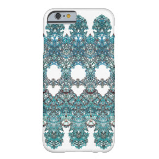laced romantic turquoise ornament arabesque barely there iPhone 6 case