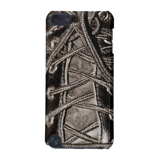 Laced up Leather Shoes or Boots iPod Touch (5th Generation) Cases