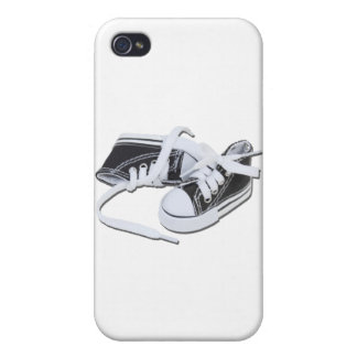 LacedTennisShoes032112.png iPhone 4/4S Cases
