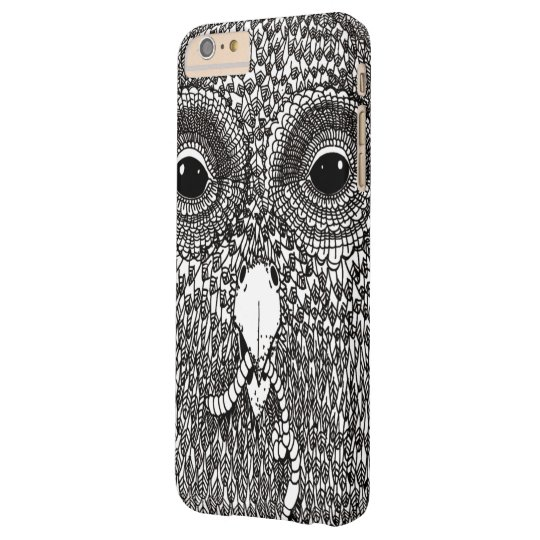 Laces Lace Artwork Owl Barely There iPhone 6 Plus Case