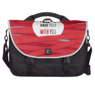 laces-red-background-I-want-to-have-text-with-you- Laptop Bag