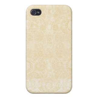 Lacey Beige Light iPhone 4 Cover