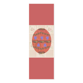 Lacey Egg 2010, Bookmark Pack Of Skinny Business Cards
