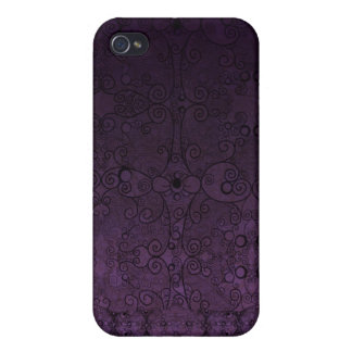 Lacey Purple iPhone 4 Cover