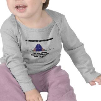 Lack Common Sense Fall Well Beyond 3 Std Devs Tshirt