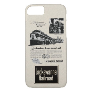 Lackawanna Railroad Centennial 1951 iPhone 7 Case