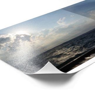 Lackey lake photo print