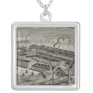 Laconia Car Company Silver Plated Necklace