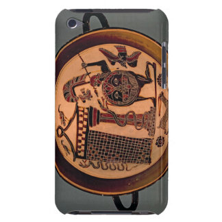 Laconian black-figure cup depicting a warrior a barely there iPod case