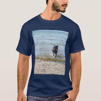 Lacquer Black German Shepherd T-Shirt