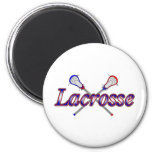 Lacrosse2 Refrigerator Magnet