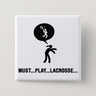 Lacrosse 15 Cm Square Badge