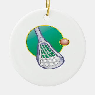 Lacrosse 3 christmas ornament