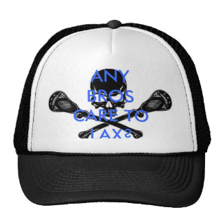 lacrosse, ANY BROS CARE TO LAX? Mesh Hat
