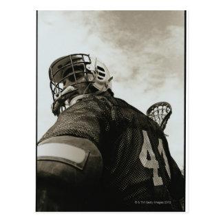 Lacrosse Athlete Postcard