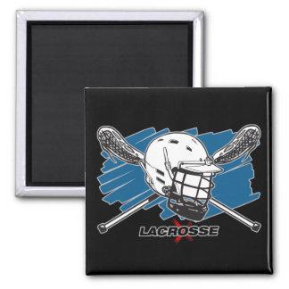 Lacrosse Attitude Fridge Magnet