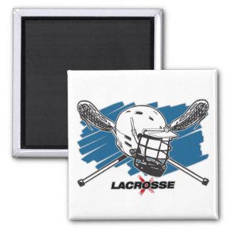 Lacrosse Attitude Magnet