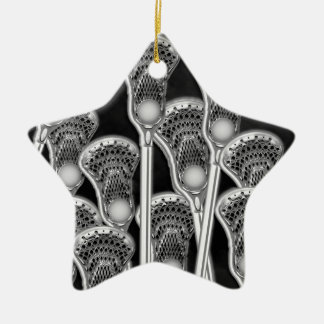 lacrosse award ceramic star decoration