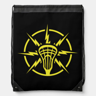 Lacrosse backpack - Lightning bolts logo