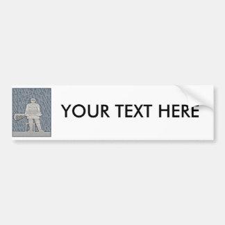 Lacrosse Bumper Sticker