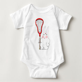 Lacrosse Bunny Baby Bodysuit