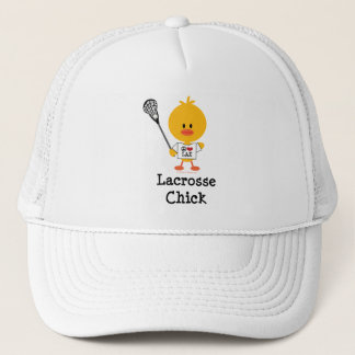 Lacrosse Chick Hat
