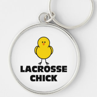 Lacrosse Chick Keychains