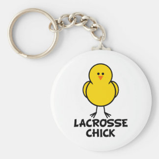Lacrosse Chick Key Chains