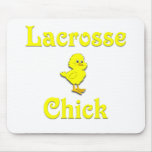Lacrosse Chick Mouse Pads