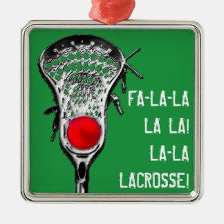 lacrosse Christmas cheer Christmas Ornament