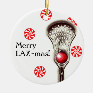 LACROSSE CHRISTMAS GIFT CHRISTMAS ORNAMENT