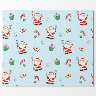 lacrosse Christmas gifts Gift Wrapping Paper