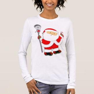 Lacrosse Christmas Long Sleeve T-Shirt