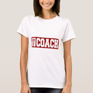 Lacrosse Coach - red T-Shirt