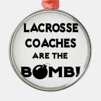 Lacrosse Coaches Are The Bomb! Ornament