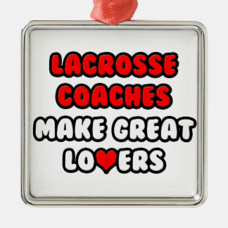 Lacrosse Coaches Make Great Lovers Christmas Ornaments