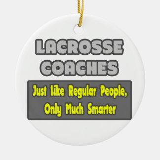 Lacrosse Coaches ... Smarter Christmas Tree Ornament