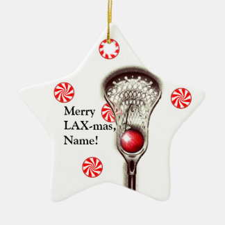 Lacrosse Collectible Christmas Ornament
