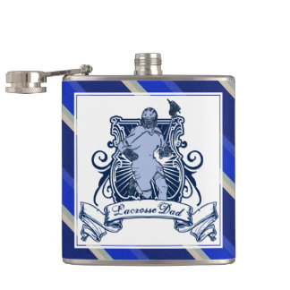 Lacrosse Dad Hip Flask