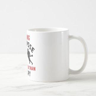 lacrosse design coffee mug