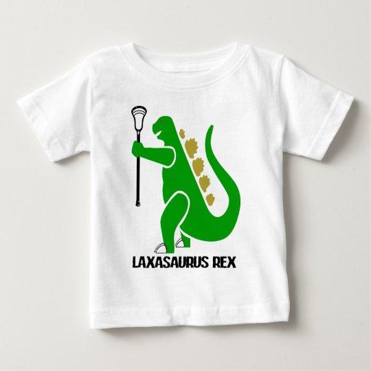 Lacrosse_Designs_LaxasaurusRex Baby T-Shirt
