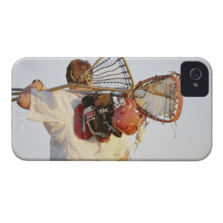 Lacrosse Equipment iPhone 4 Cover
