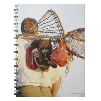 Lacrosse Equipment Notebooks