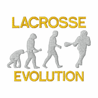 Lacrosse Evolution Embroidered Polo Shirt