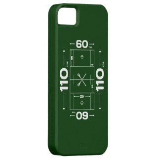 Lacrosse Field Dimensions iphone 5 case